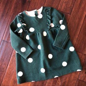 Zara Baby Girl Polka Dot Dress